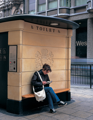 Clear Channel Adshel Automatic Public Toilet Design for Westminster